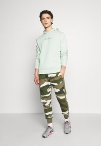 Nike Sportswear - HOODIE WASH - Mikina skapucí - pistachio frost - 1