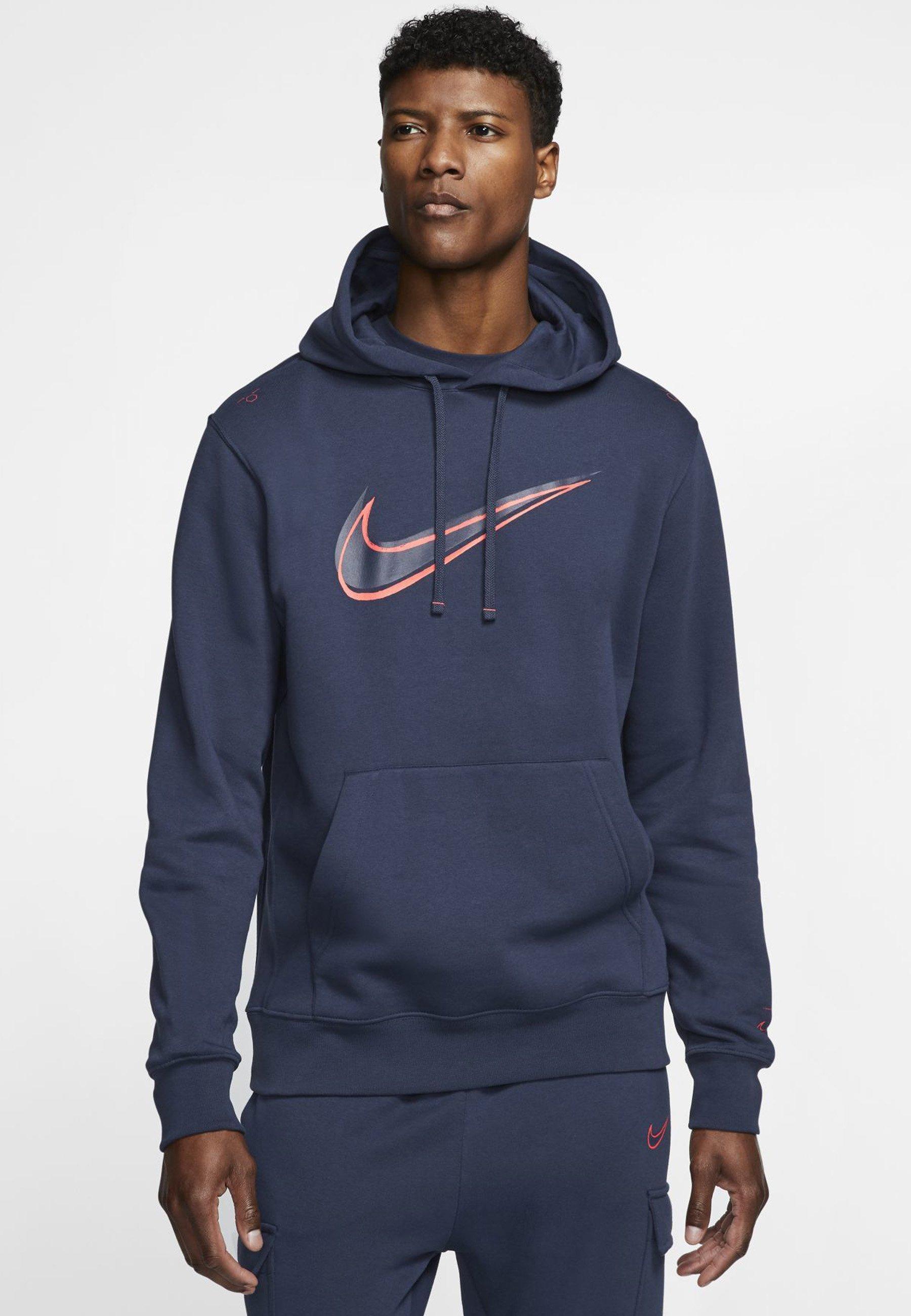Nike Sportswear HOODIE - Bluza z kapturem - midnight navy
