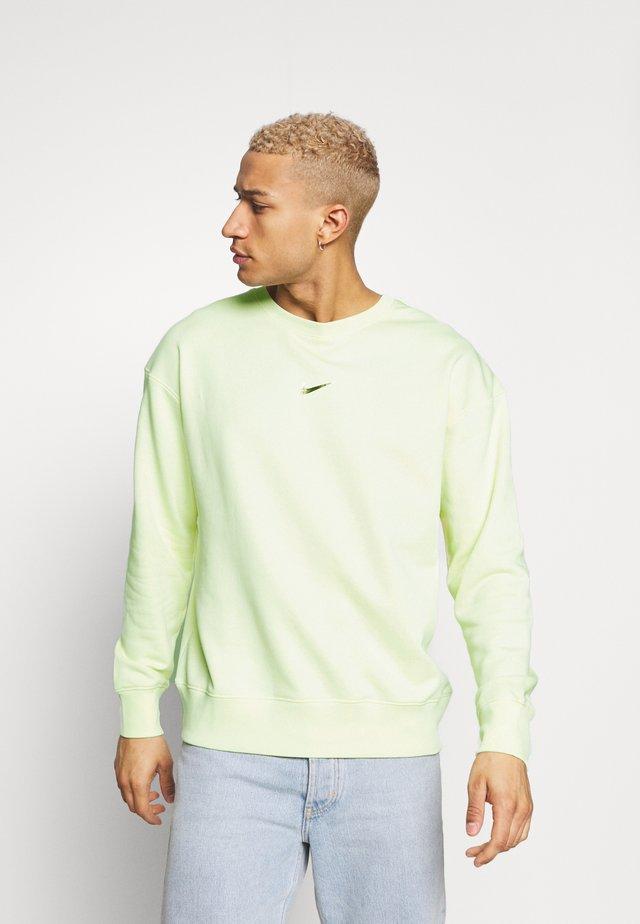 Sweatshirt - luminous green