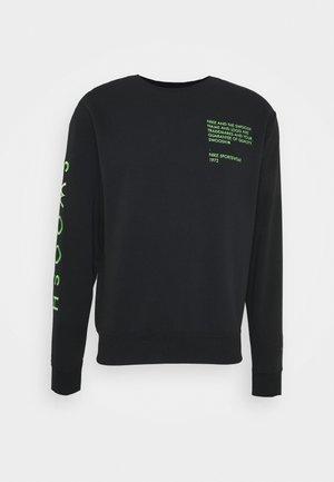 Sweatshirt - black/green