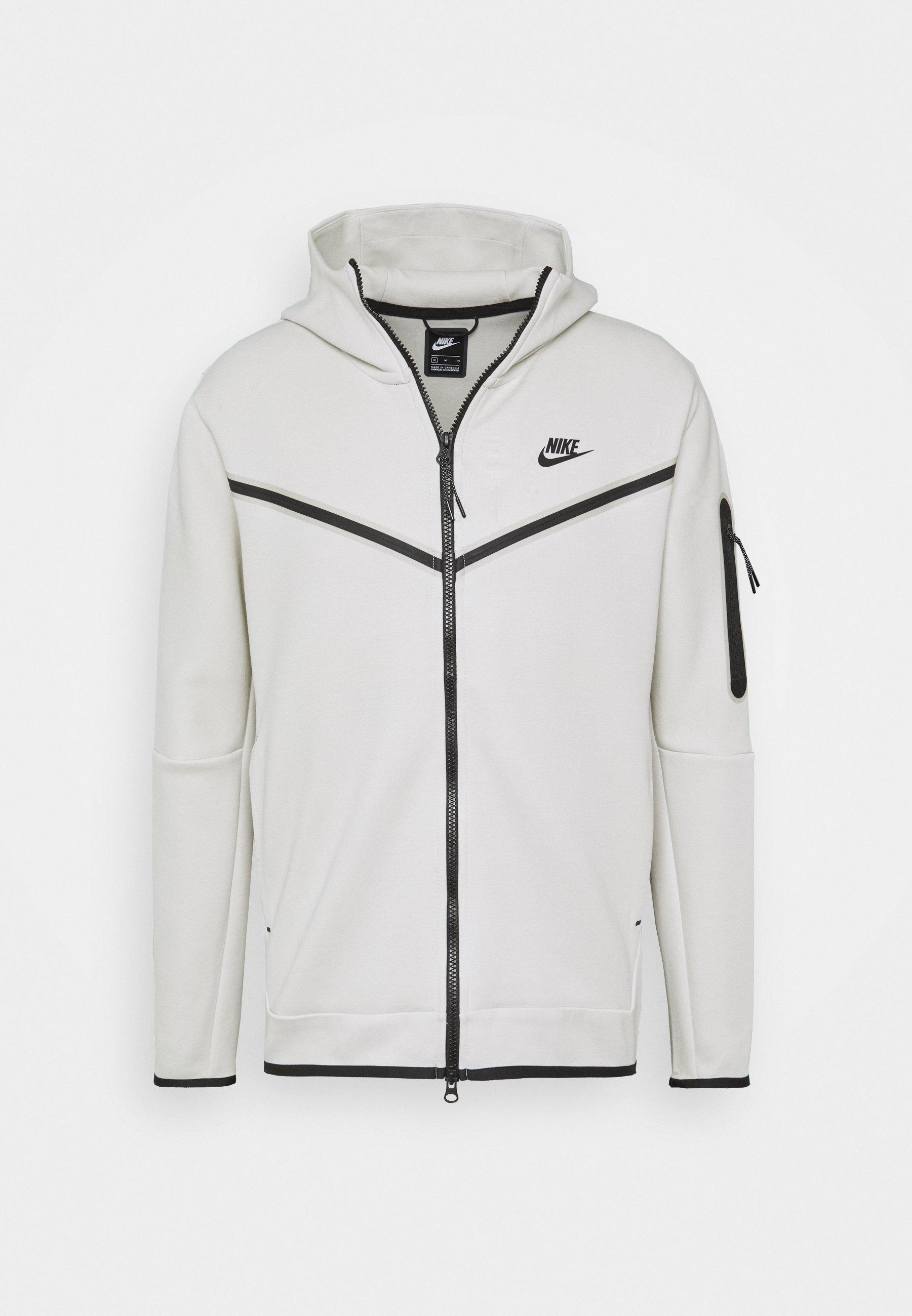 veste en sweat zippée light boneblack