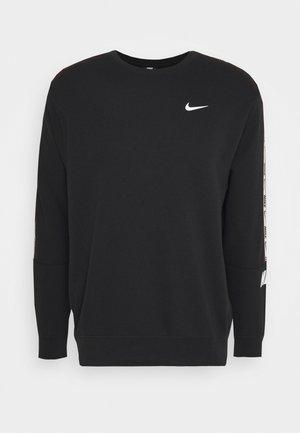 REPEAT CREW  - Sweatshirts - black