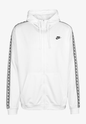 NSW REPEAT - Zip-up hoodie - white/black