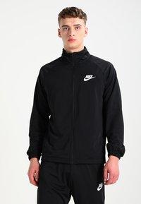 Nike Sportswear - BASIC - Tepláková souprava - black/white - 2