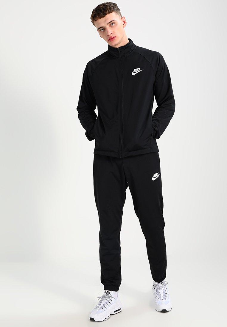Nike Sportswear - BASIC - Tepláková souprava - black/white