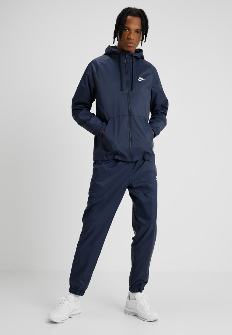 Nike Sportswear - Trainingsanzug - obsidian/white