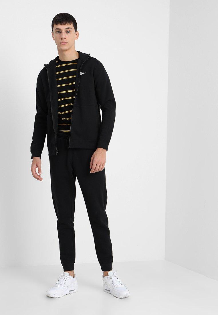 Nike Sportswear - Tracksuit - black/white