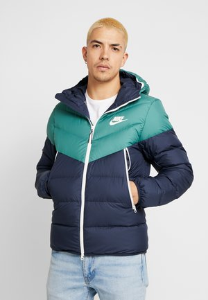 Down jacket - bicoastal/obsidian/sail