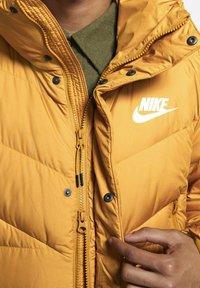 Nike Sportswear - Down coat - gold suede - 4