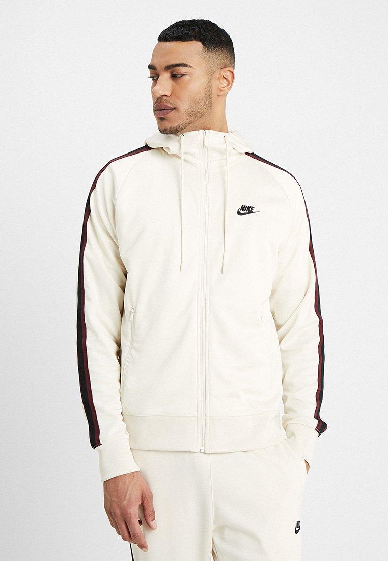Nike Sportswear - HOODIE TRIBUTE - Giacca sportiva - light cream/sail