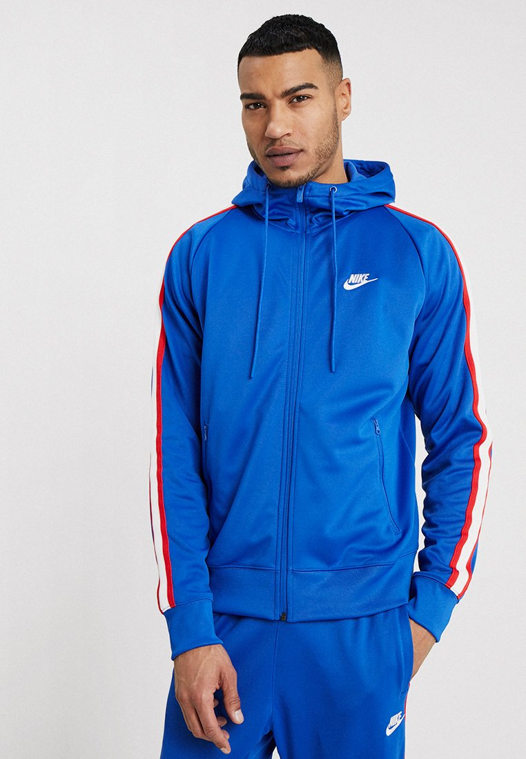Nike Sportswear - HOODIE TRIBUTE - Training jacket - game royal/sail