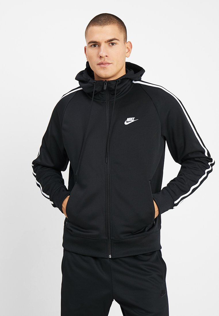 Nike Sportswear - HOODIE TRIBUTE - Training jacket - black