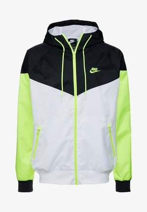 Summer jacket - white/black/volt