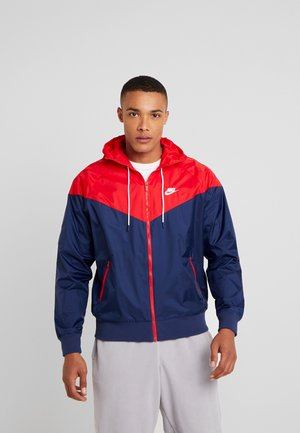 Summer jacket - midnight navy/university red/white