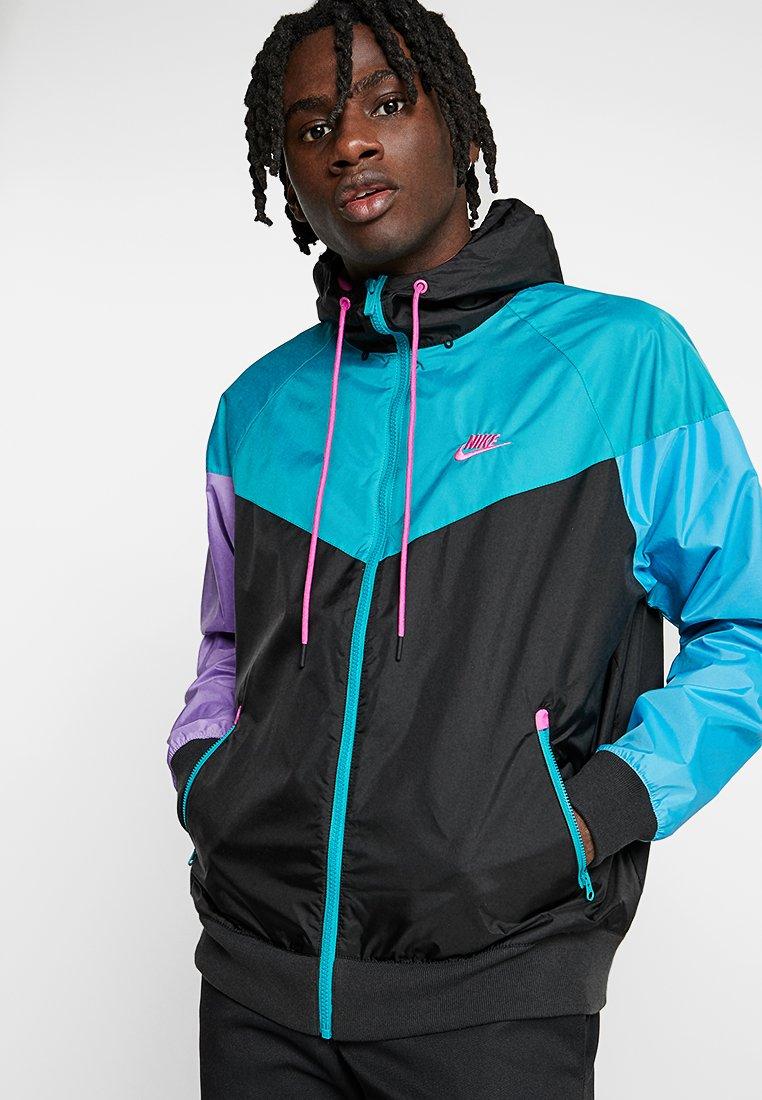 Nike Sportswear - Korte jassen - black/spirit teal/space purple/active fuchsia