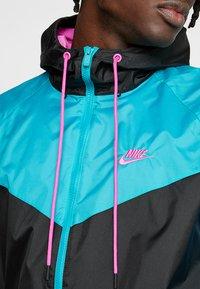 Nike Sportswear - Korte jassen - black/spirit teal/space purple/active fuchsia - 5