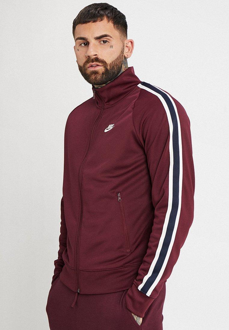 Nike Sportswear - TRIBUTE - Träningsjacka - night maroon