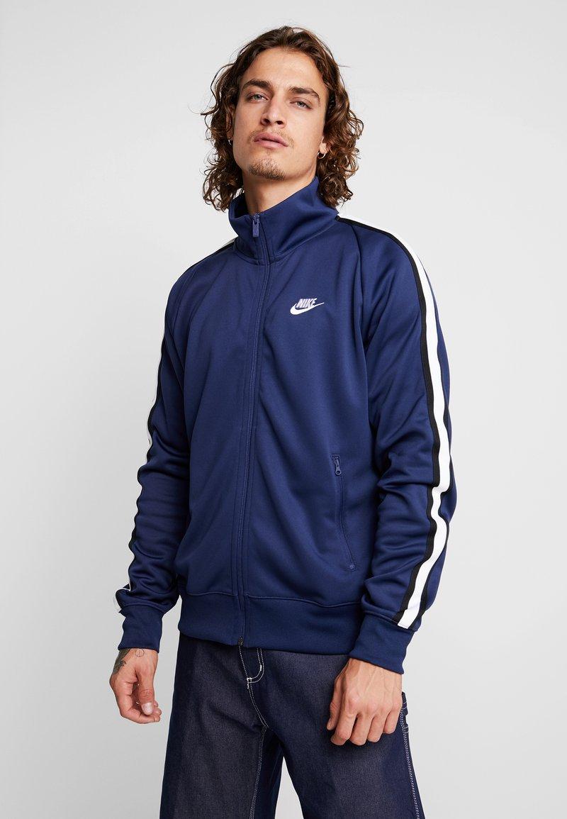 Nike Sportswear - TRIBUTE - Trainingsjacke - midnight navy/white