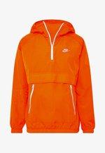 Windbreaker - magma orange/white