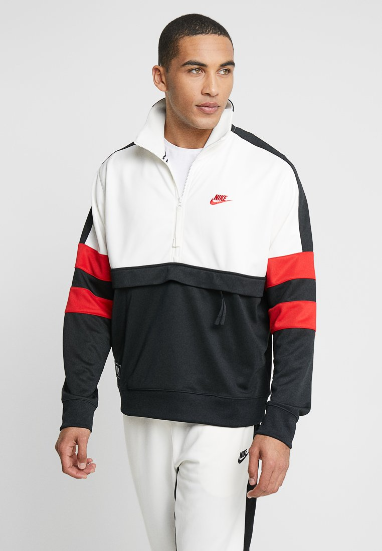 Nike Sportswear - AIR - Sweatshirt - sail/black/university red