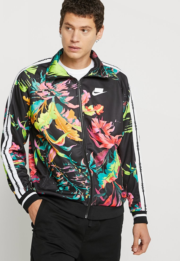 Nike Sportswear - Verryttelytakki - cyber/black/white