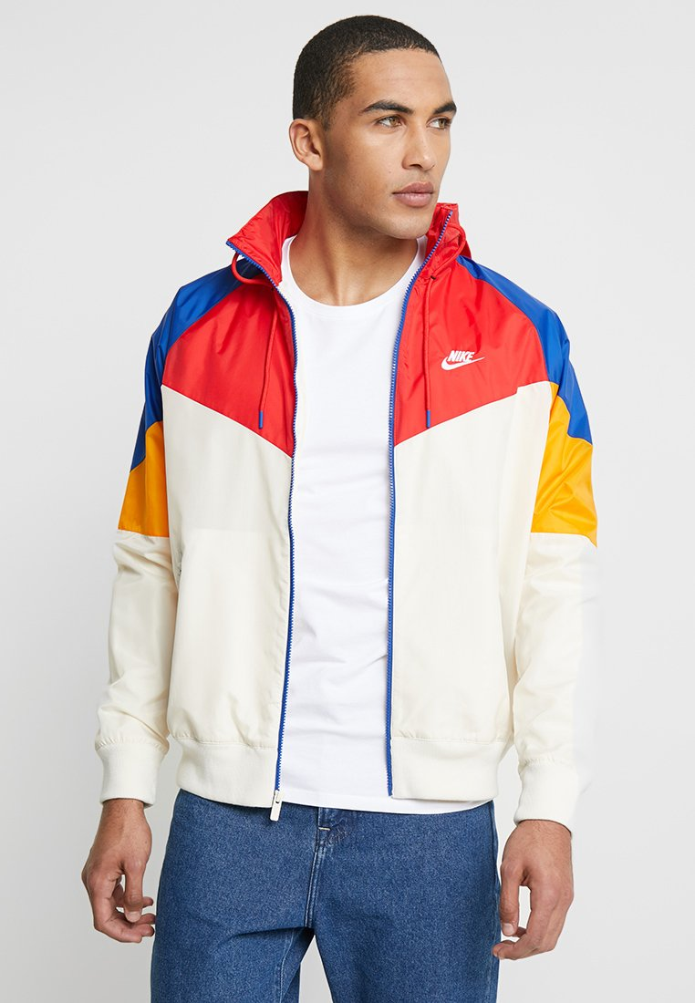 Nike Sportswear - Windbreaker - light cream/university red/indigo force/white