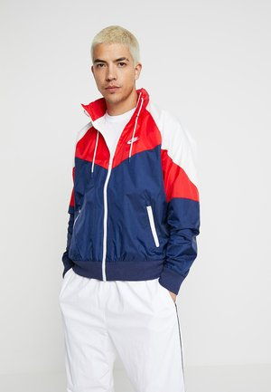 Summer jacket - midnight navy/university red/summit white