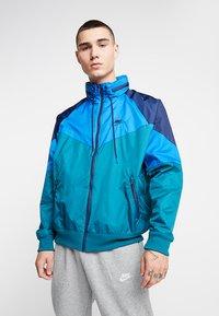 Nike Sportswear - Summer jacket - geode teal/battle blue/midnight navy - 0