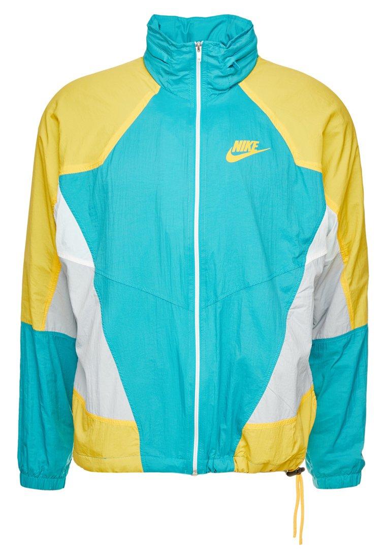 Nike Sportswear - RE-ISSUE - Leichte Jacke - spirit teal/university gold/sail