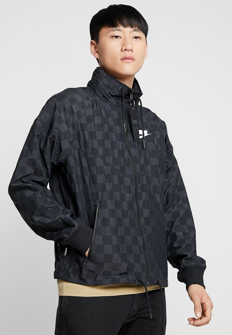 Nike Sportswear - CHECK - Summer jacket - black