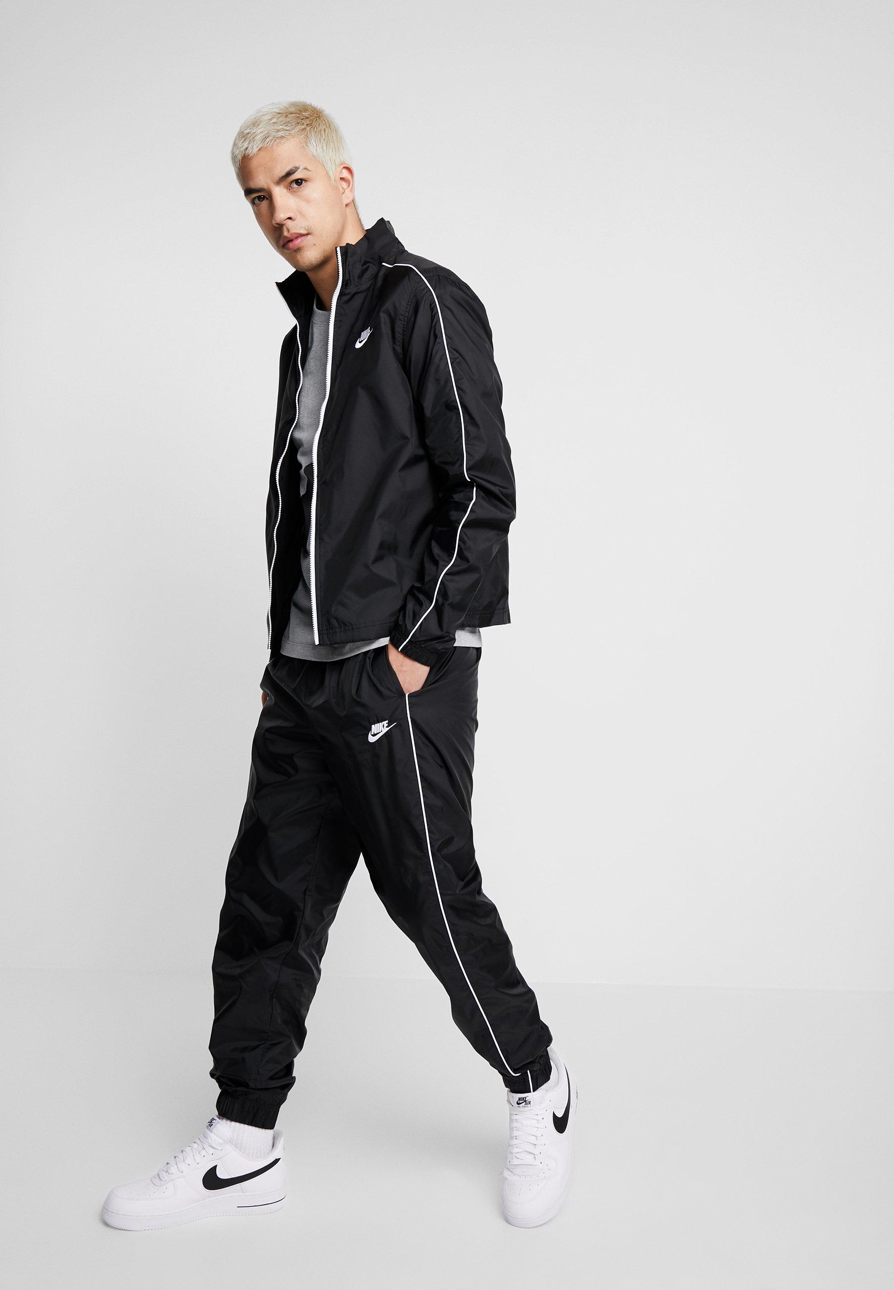 Nike Sportswear BASIC Tuta blackwhite Zalando.it