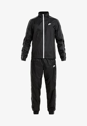 SUIT BASIC - Tracksuit - black/white