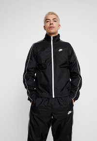 Nike Sportswear - SUIT BASIC - Tracksuit - black/white - 2