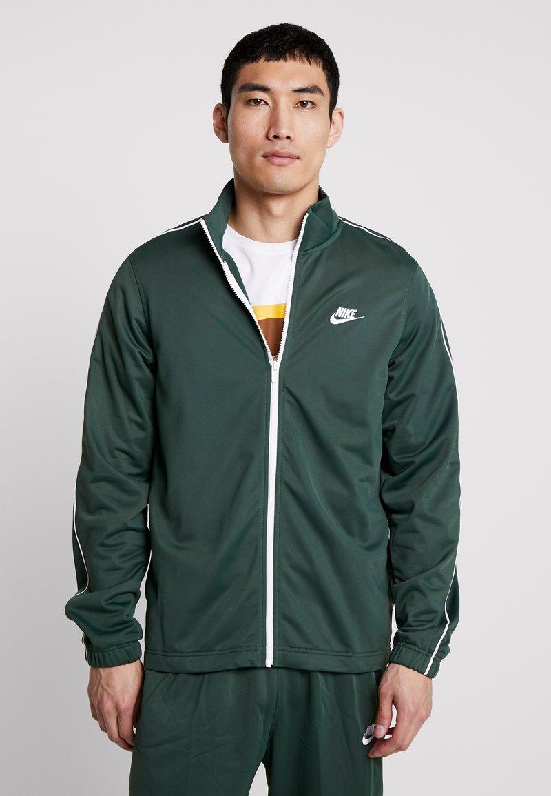 Nike Sportswear - SUIT BASIC - Tracksuit - galactic jade/white