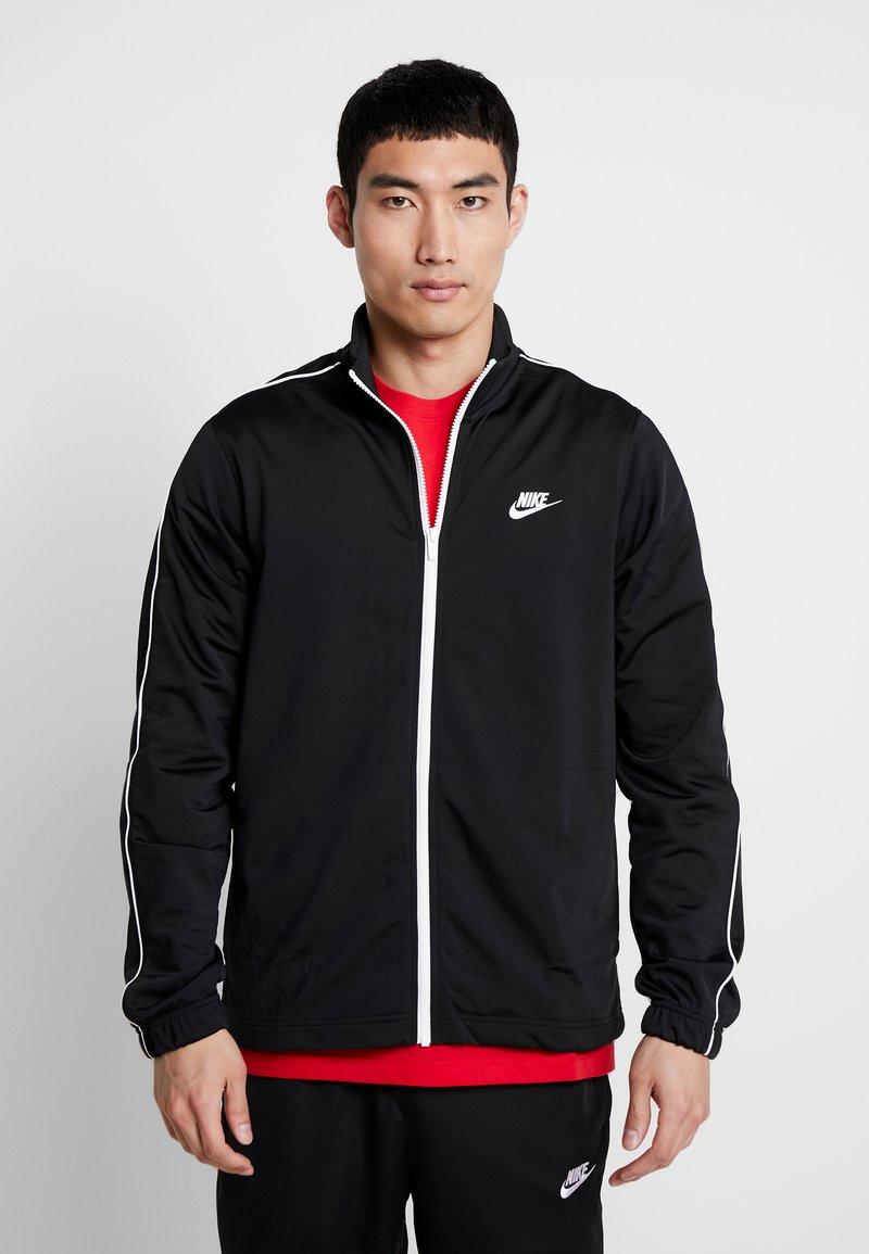 Nike Sportswear - SUIT BASIC - Träningsset - black/white