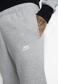 Nike Sportswear - SET - Survêtement - dark grey heather/black/white - 8