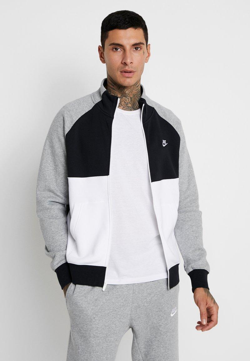 Nike Sportswear - SET - Survêtement - dark grey heather/black/white