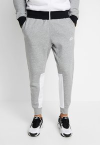 Nike Sportswear - SET - Survêtement - dark grey heather/black/white - 3