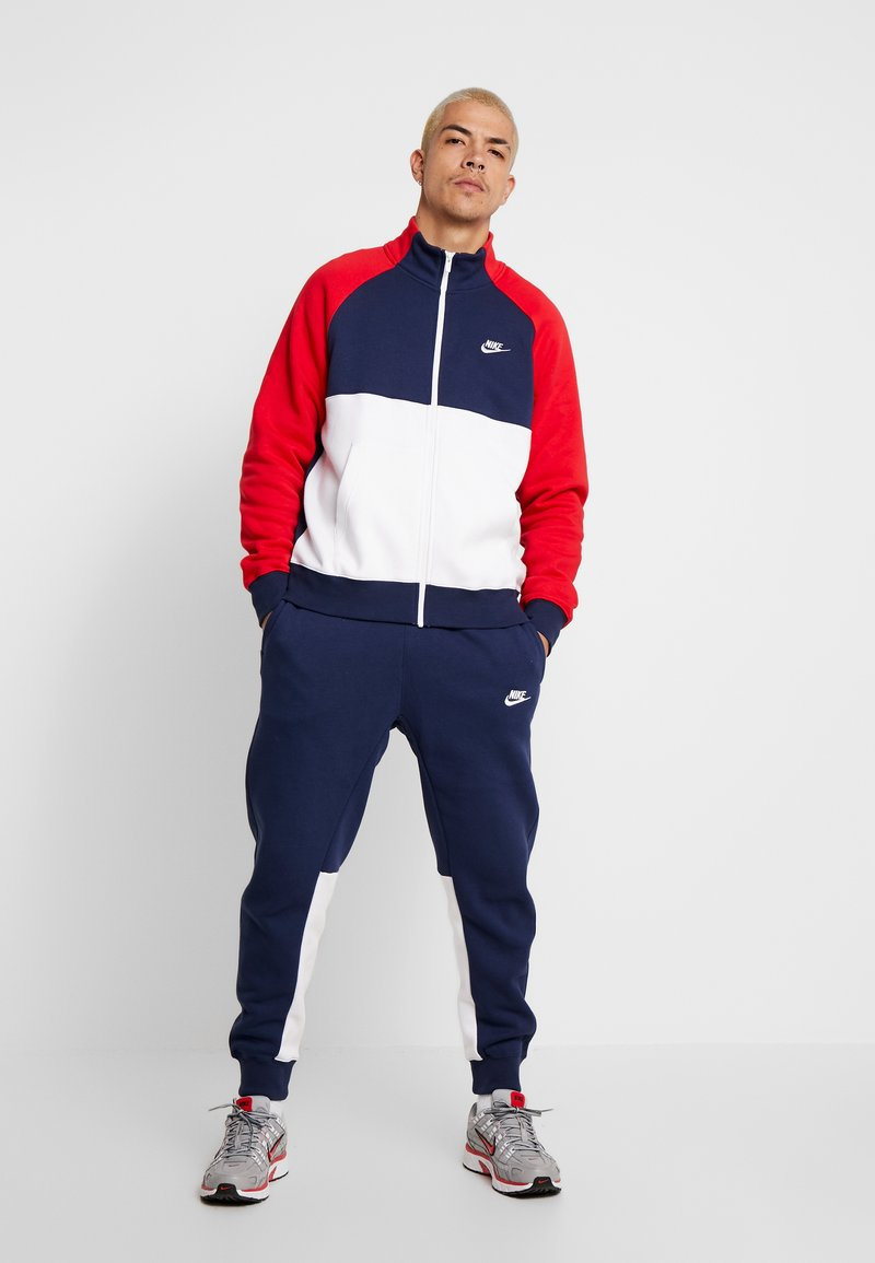 Nike Sportswear - SUIT - Survêtement - midnight navy/university red/white