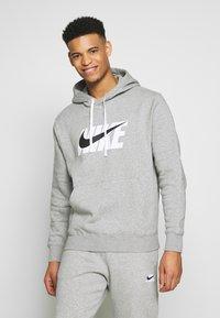 Nike Sportswear - TRACK SUIT - Träningsset - dark grey heather - 0