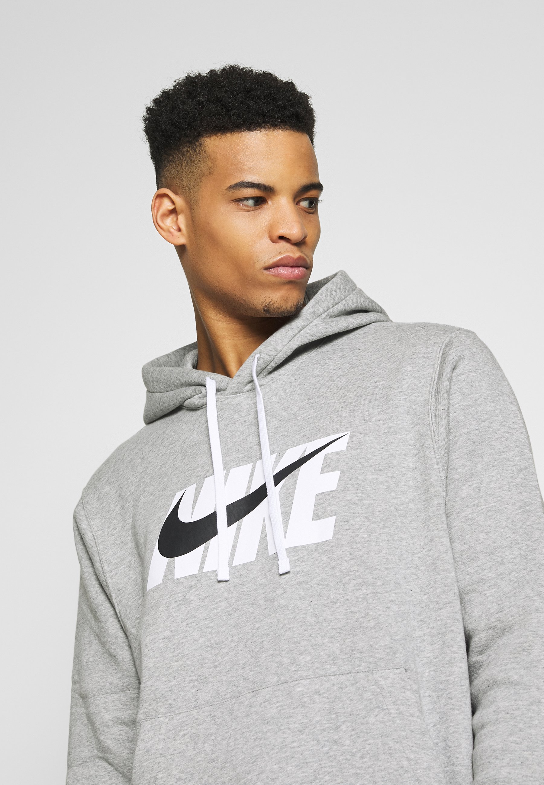 Nike Sportswear M Nsw Ce Trk Suit Hd Flc Gx - Treningsdress Dark Grey Heather