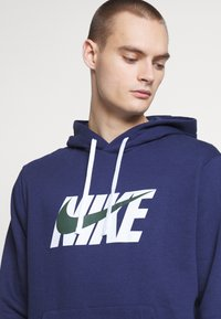 Nike Sportswear - M NSW CE TRK SUIT HD FLC GX - Tuta - midnight navy - 2