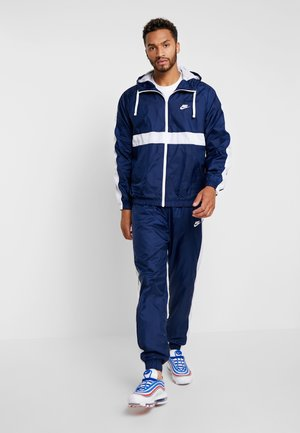 M NSW CE TRK SUIT HD WVN - Tuta - midnight navy/white