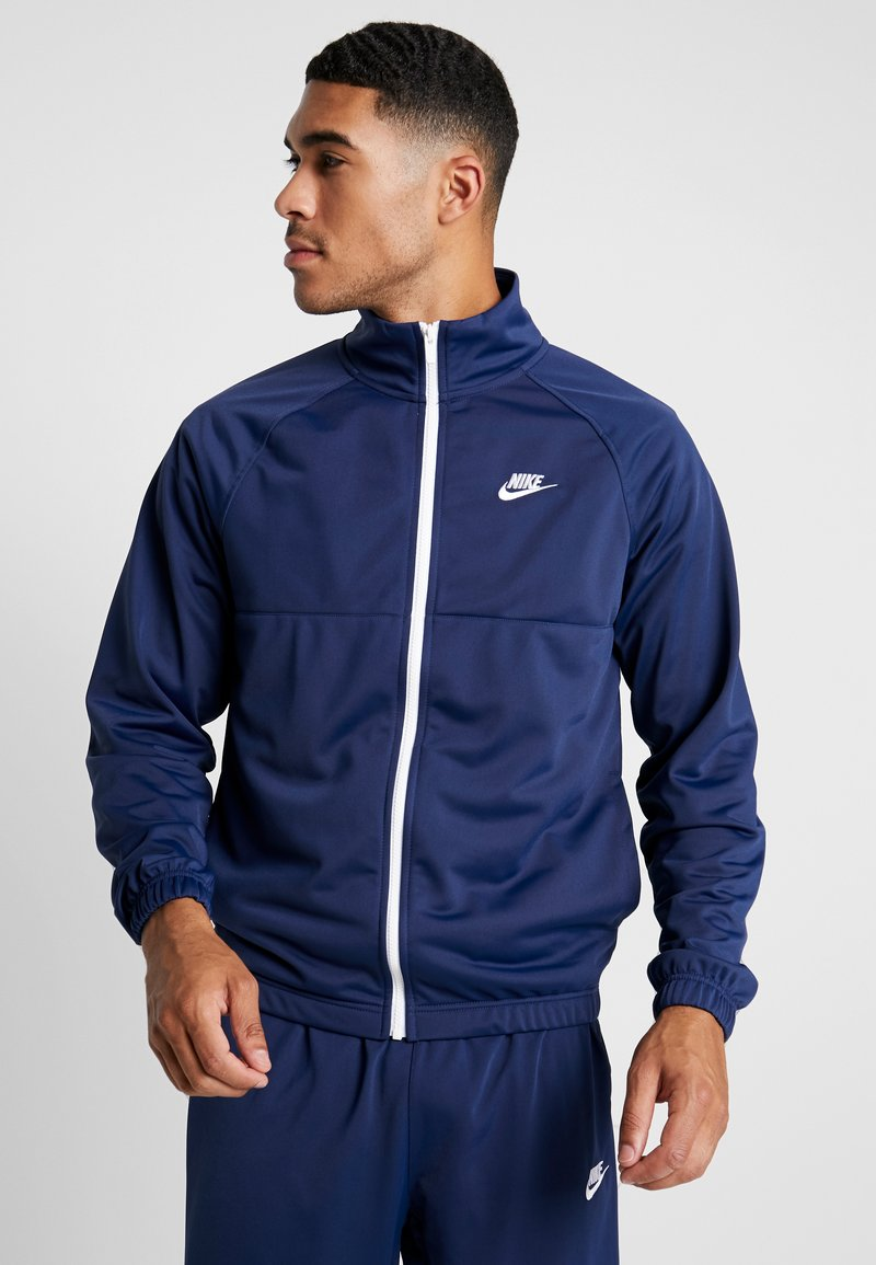 Nike Sportswear - SUIT - Tracksuit - midnight navy/white