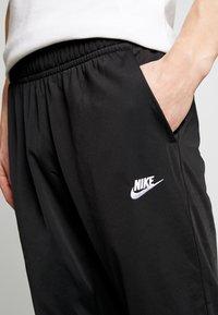 Nike Sportswear - SUIT - Tepláková souprava - black/white - 7