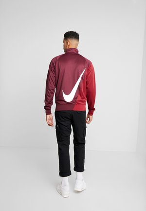 Trainingsvest - night maroon/team red/white