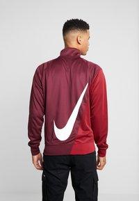 Nike Sportswear - Training jacket - night maroon/team red/white - 4
