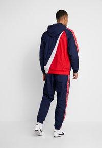 Nike Sportswear - Windjack - obsidian/white/university red - 2