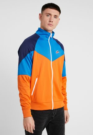 Training jacket - starfish/battle blue/midnight navy