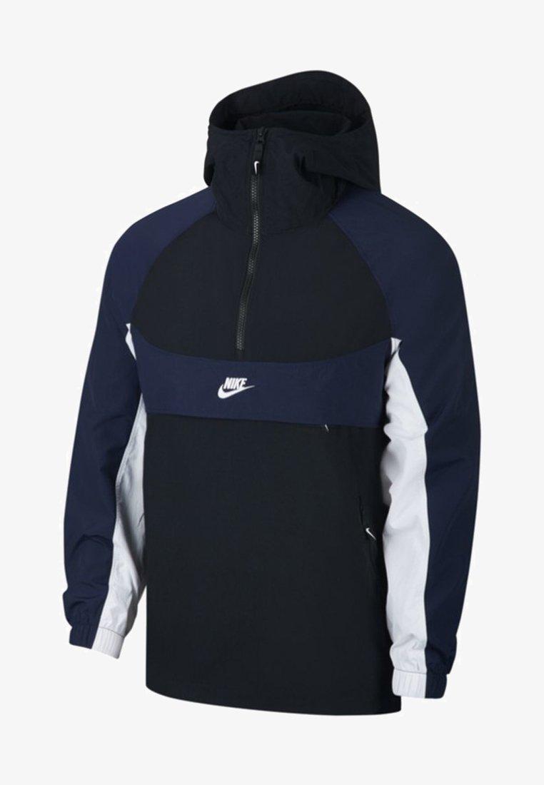 Nike Sportswear - RE-ISSUE - Windbreaker - black/obsidian/white